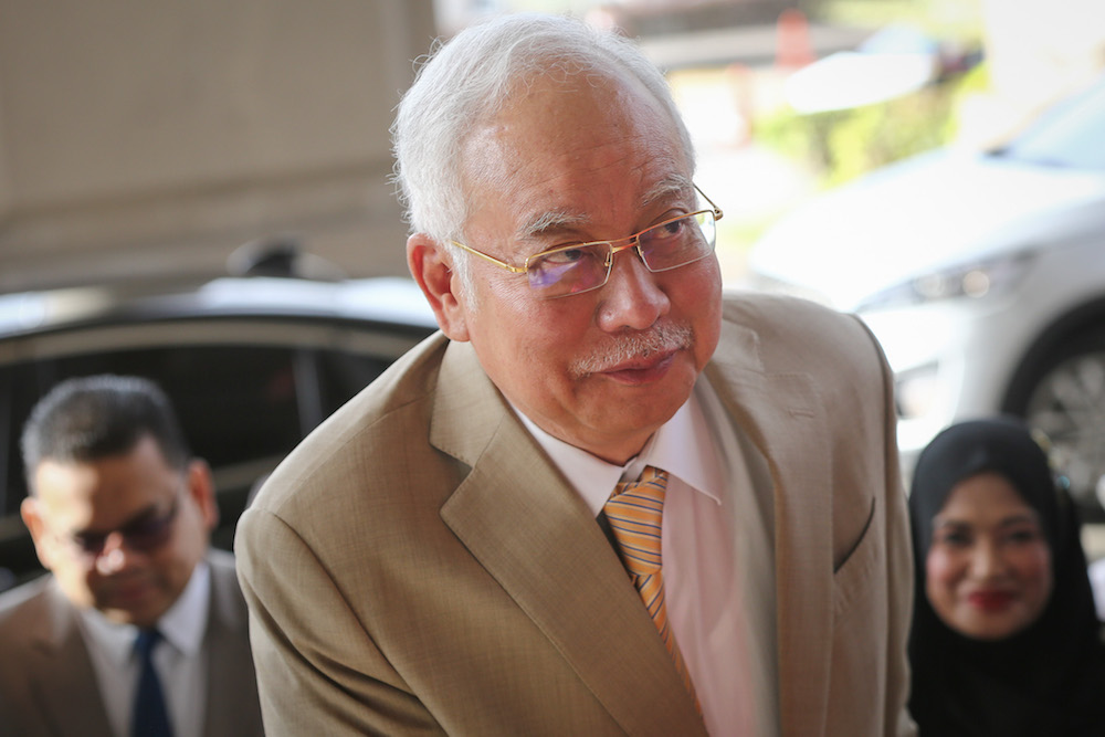 On trial, Najib insists RM2b SRC loan rushed for 'national interest'
