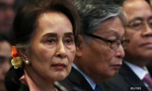 Aung San Suu Kyi in court as genocide case set out against Myanmar