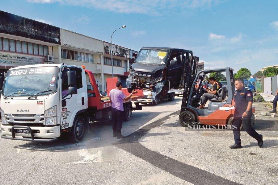 Shah Alam City Council seizes 60 abandoned vehicles