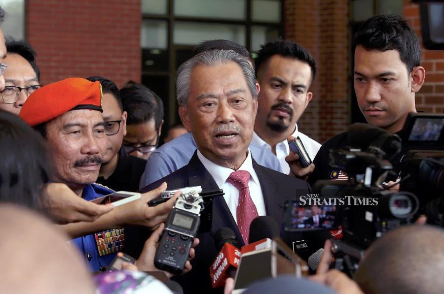 People are watching us, Muhyiddin tells PH leaders