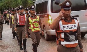 Five cops hurt in Thai bomb explosion