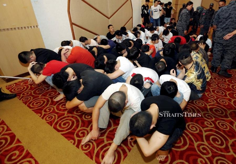 Another 65 Chinese nationals busted for online scam