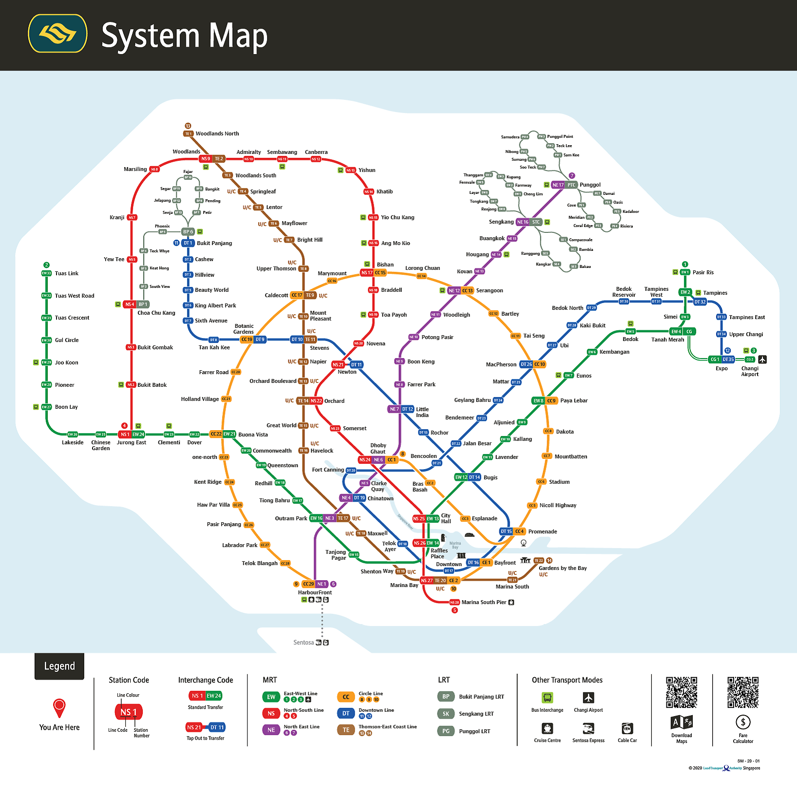 Everything About The New MRT Map That Finally Has A Circle On The Circle Line