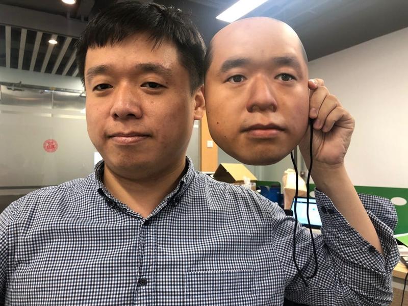 印刷面具破解内地人脸识別 关口电子支付系统存漏洞