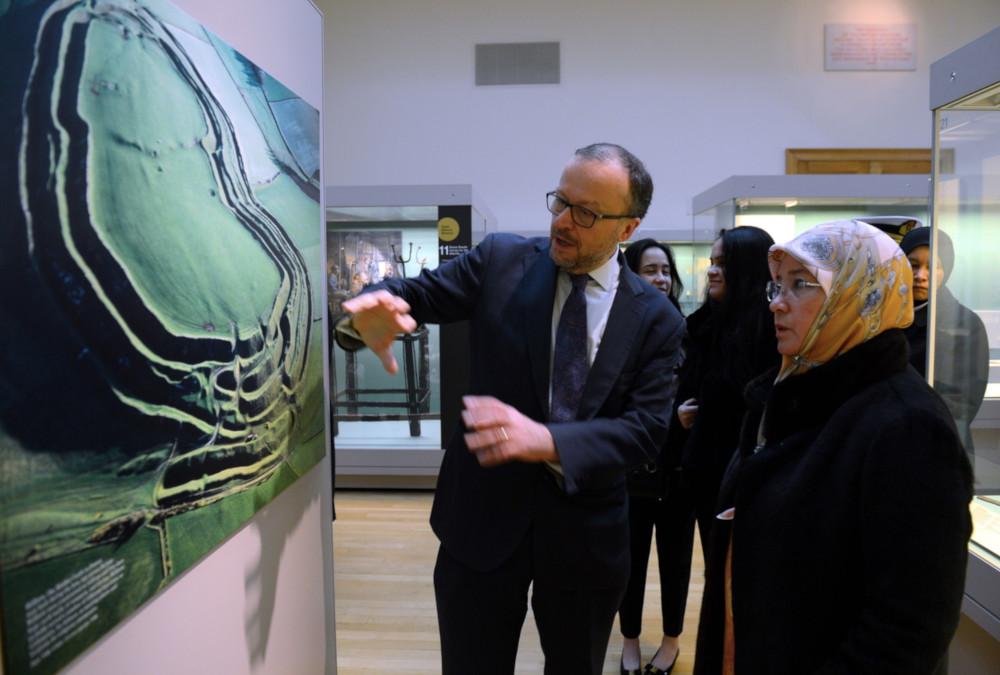 Raja Permaisuri Agong visits British Museum
