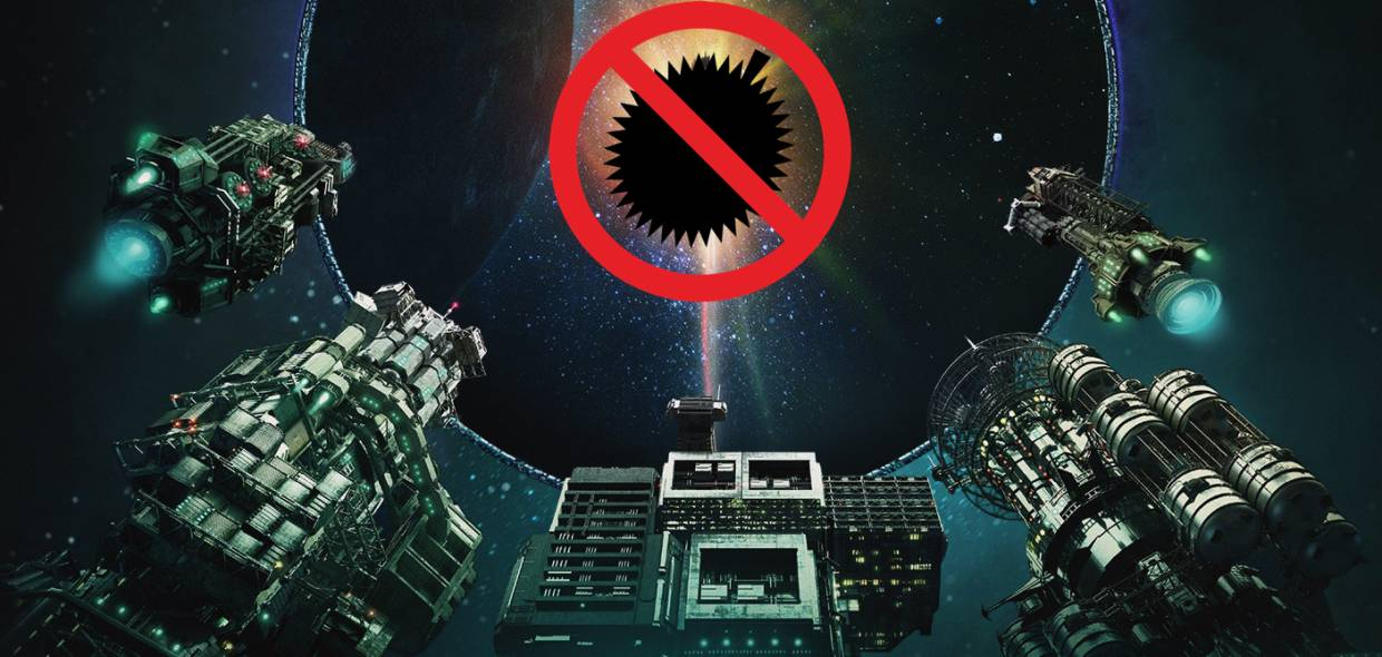 No durians allowed, even in space! Sci-fi series 'The Expanse' has No Durians sign