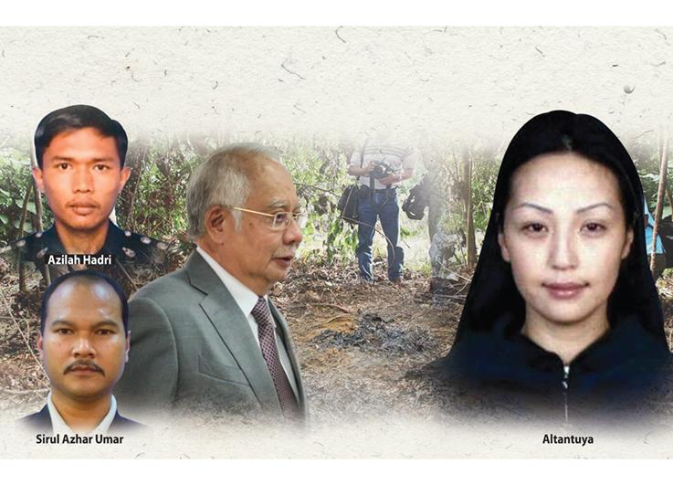 Azilah claims Najib ordered 'shoot to kill' hit on Altantuya