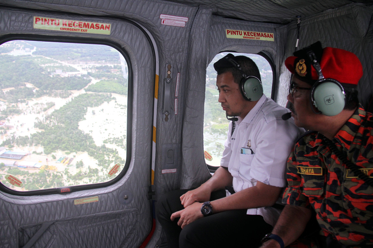 Johor MB's office defends visit to the Middle East amid floods in state