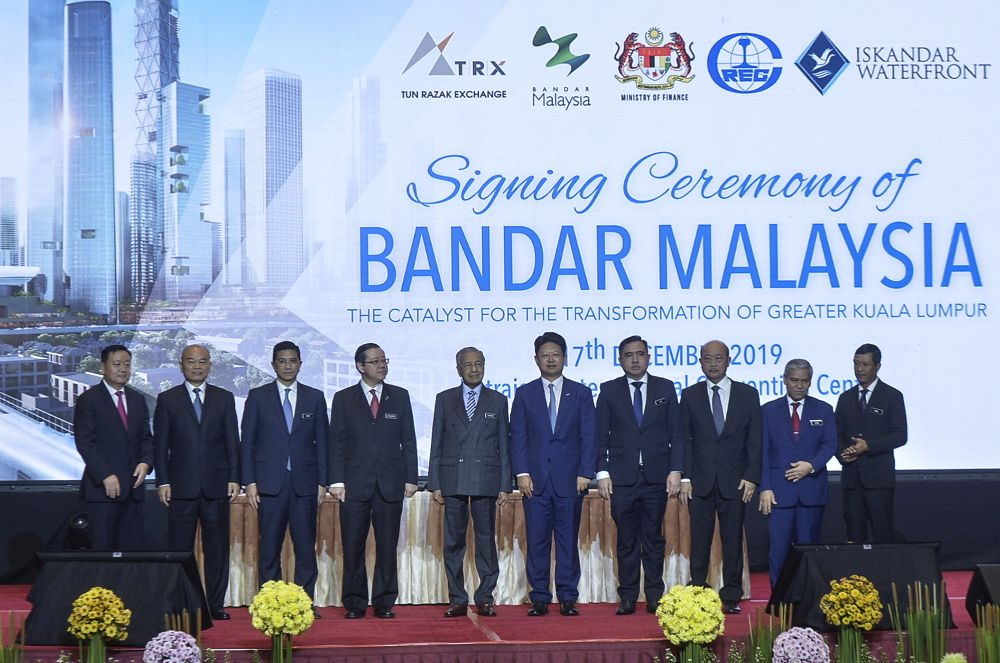 Revival of Bandar Malaysia project testament to excellent China ties, says Dr M