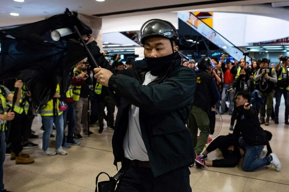 Hong Kong needs to do more to stop violence, resolve problems, says top official Matthew Cheung