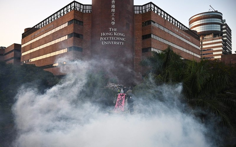 Malaysian student tells of tear gas and petrol bombs in HK