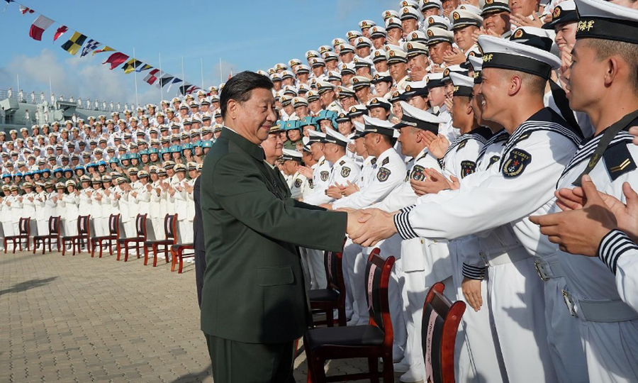 China's Shandong launched amid fanfare
