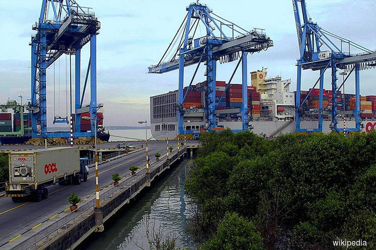 Port Klang handled 12.32 mil TEUs from Jan-Nov 2019