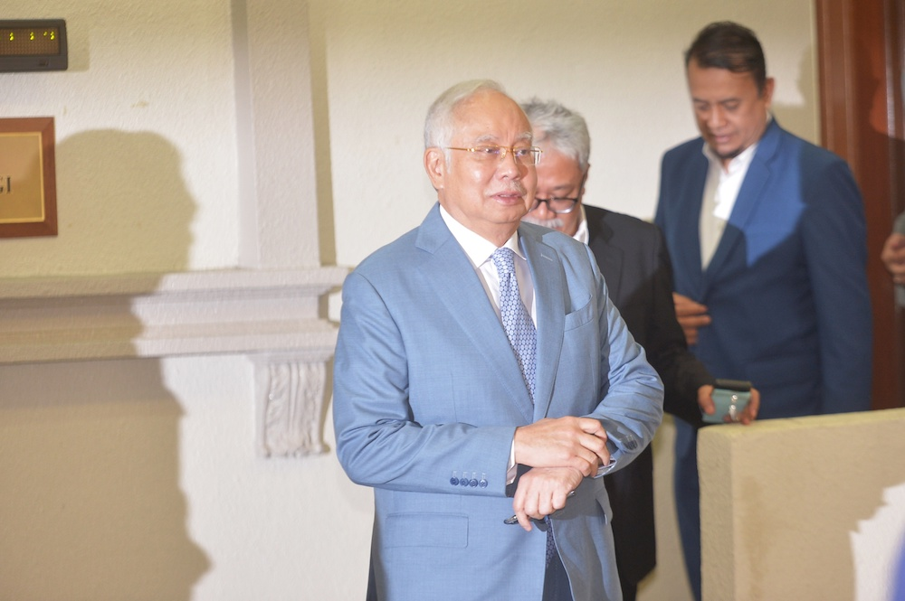 Najib withdraws application to disqualify lawyer to represent IRB in tax suit