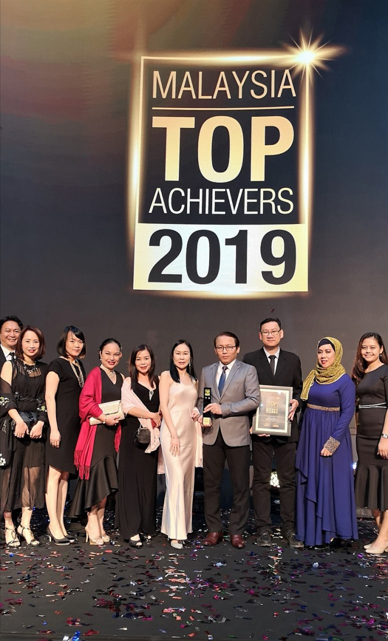 Sabah Net conferred Malaysian Top Achievers 2019 Award for inudstry excellence in ICT