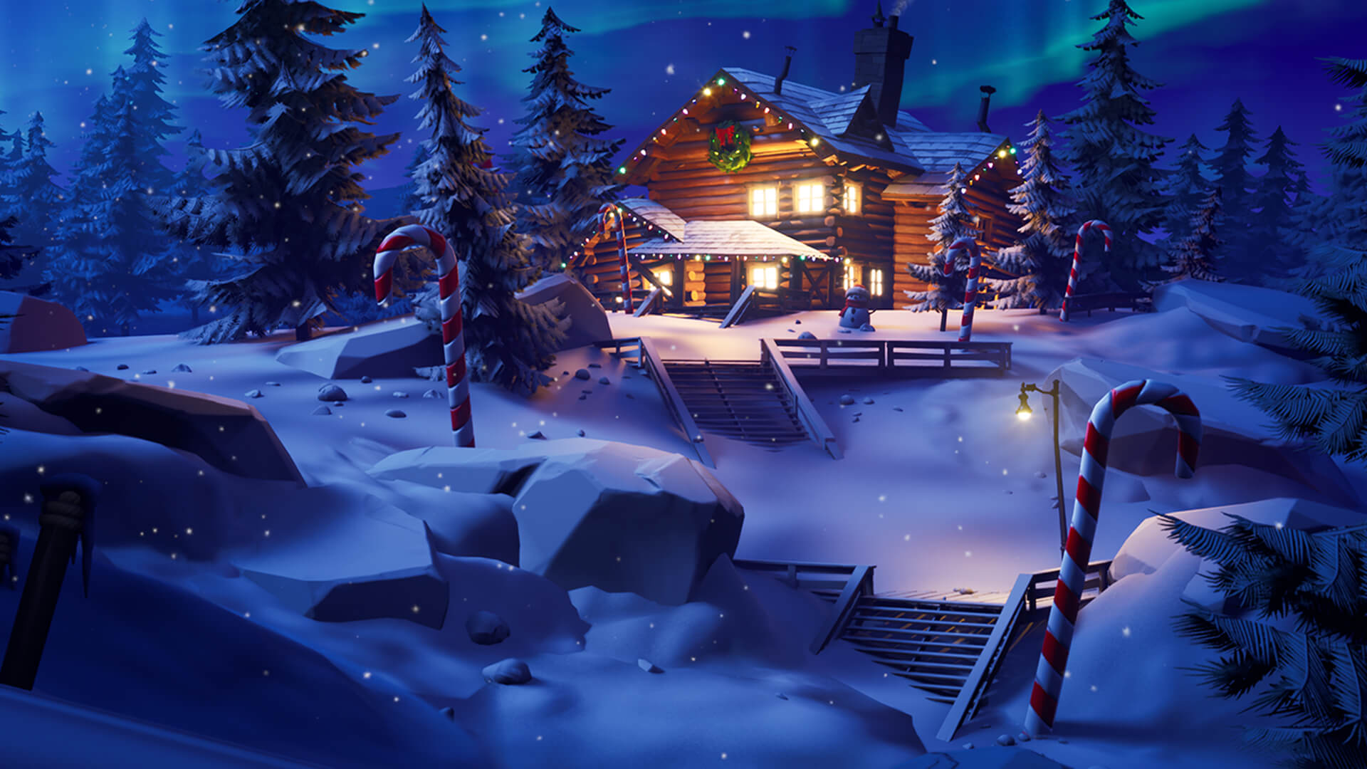 Fortnite players get free skins, and more, for the holidays