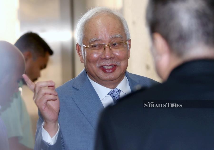 Najib: Stop going round and round, you'll get vertigo