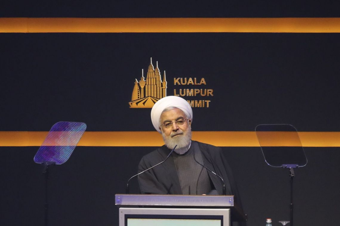 Iran President Hassan Rouhani urges deeper Muslim links to fight US 'hegemony'