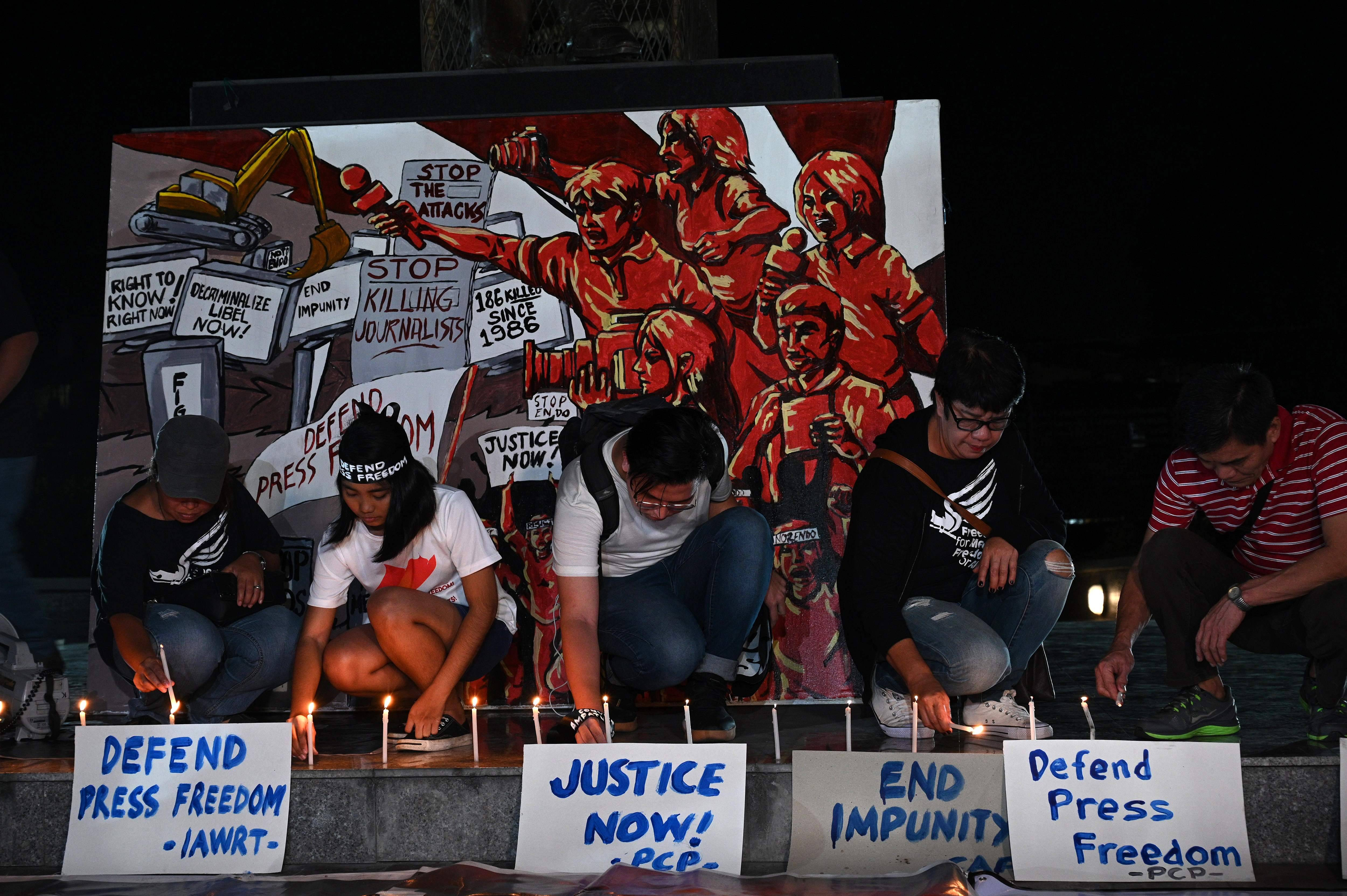 Masterminds of Philippines' worst political massacre guilty of murder