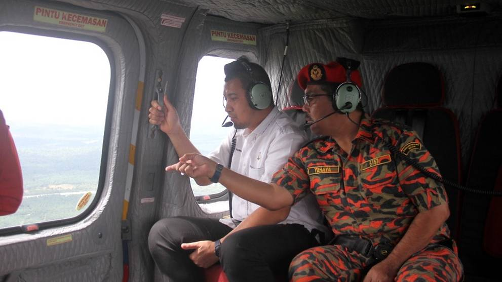 Johor chief minister defends Middle East visit amid floods