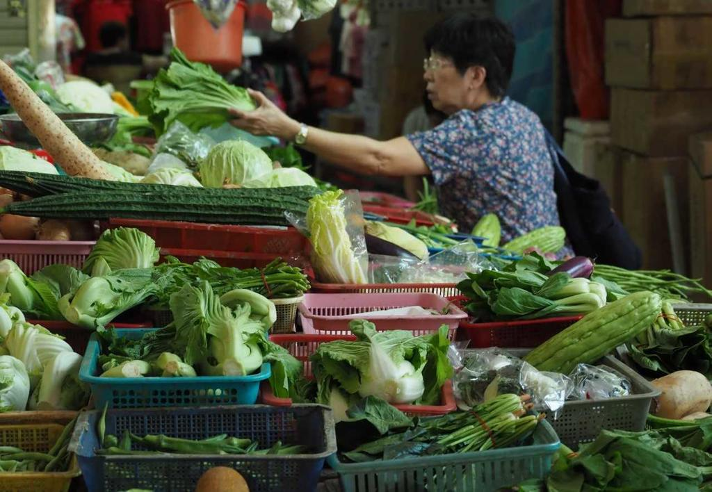 Wholesale vegetable prices from flood-hit Malaysia surge in Singapore but retail prices steady, say vendors