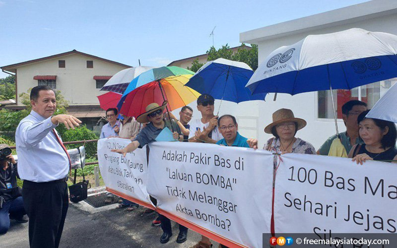 Penang residents picket against 9,000-capacity foreign workers' hostel