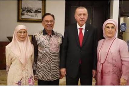 Blogger says Turkish president snubs Dr Mahathir by not attending dinner event