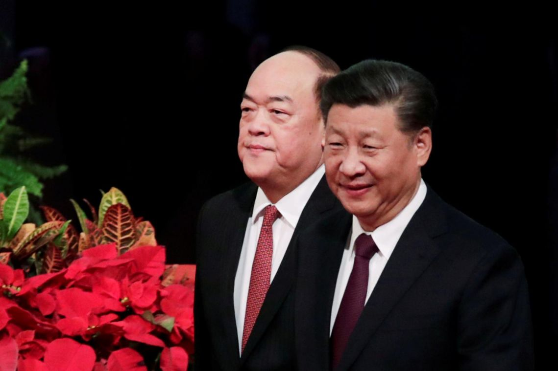 Hands off Hong Kong and Macau, Chinese President Xi Jinping tells foreign countries