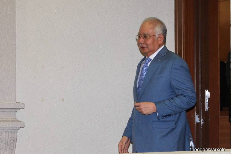 Najib drops bid to recuse lawyer DP Naban from IRB's RM1.69b suit against him
