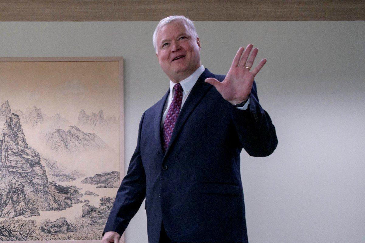 North Korea on agenda as US envoy Stephen Biegun visits China
