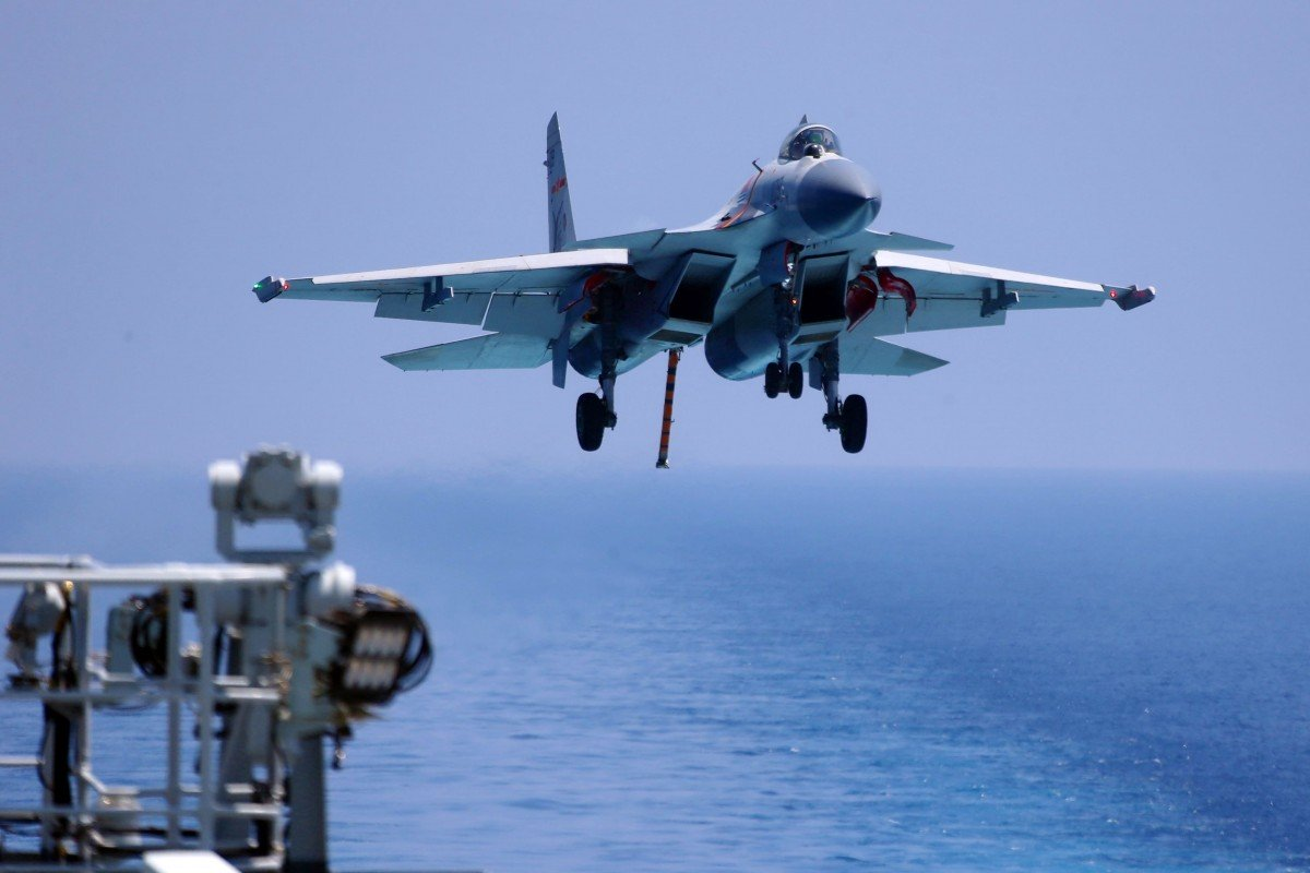 China military's new Shandong aircraft carrier set to have smaller fighter jet force than expected