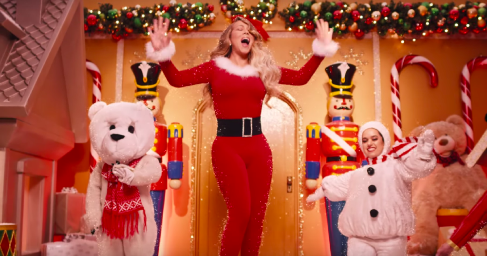 """Mariah Carey drops new """"All I Want for Christmas is You"""" music video with cameos from her children"""