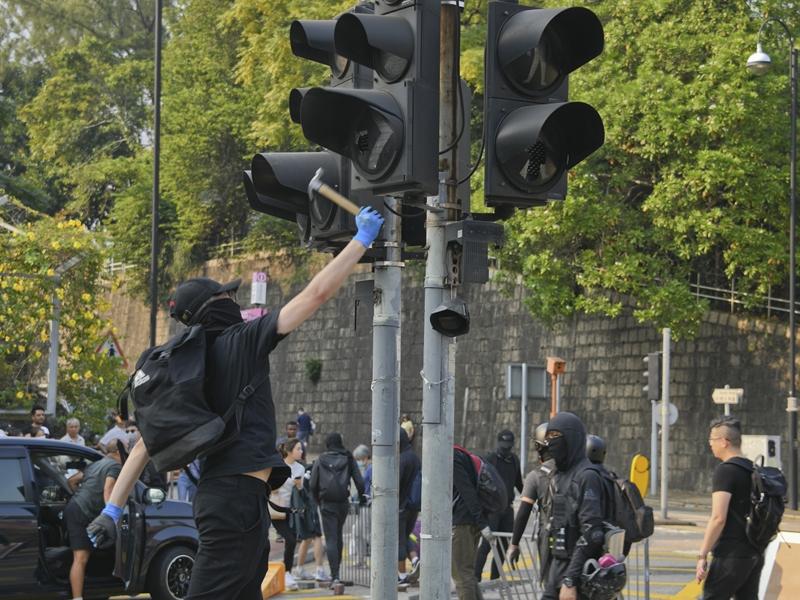 【修例风波】运输署指所有交通灯已恢復运作 吁公众勿再破坏