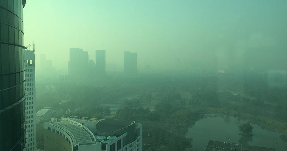 Air quality reaches unhealthy levels in Bangkok