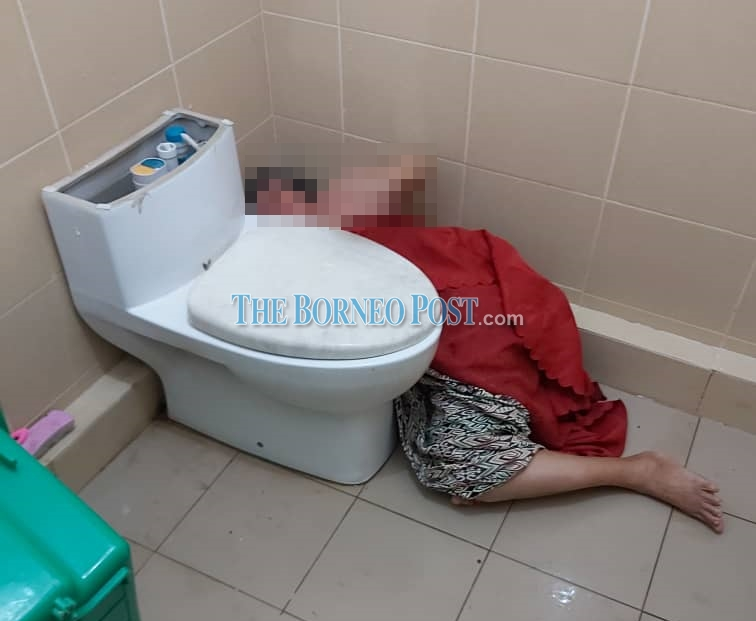 Woman endures five hour ordeal after getting her hand stuck in toilet trap hole