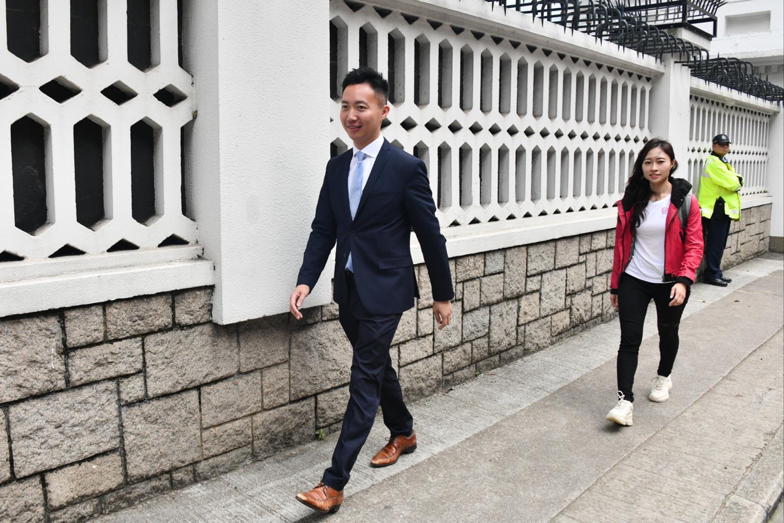 林郑礼宾府晤落选建制派区议员 陈家珮否认获派公职
