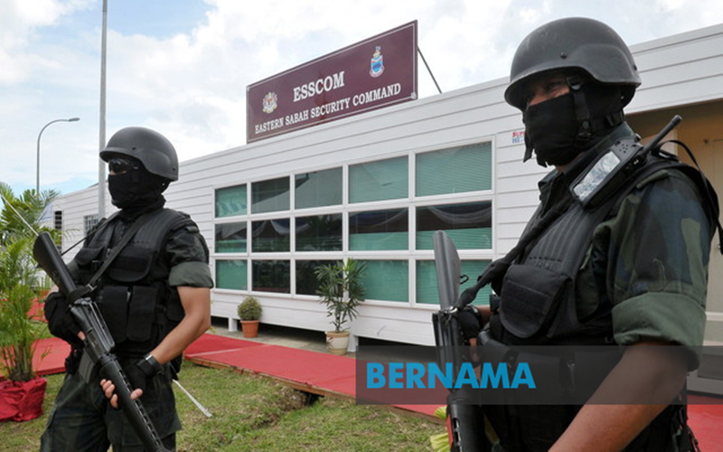 Customs Department boat shot 50 times in Sabah waters, ESSCom investigating