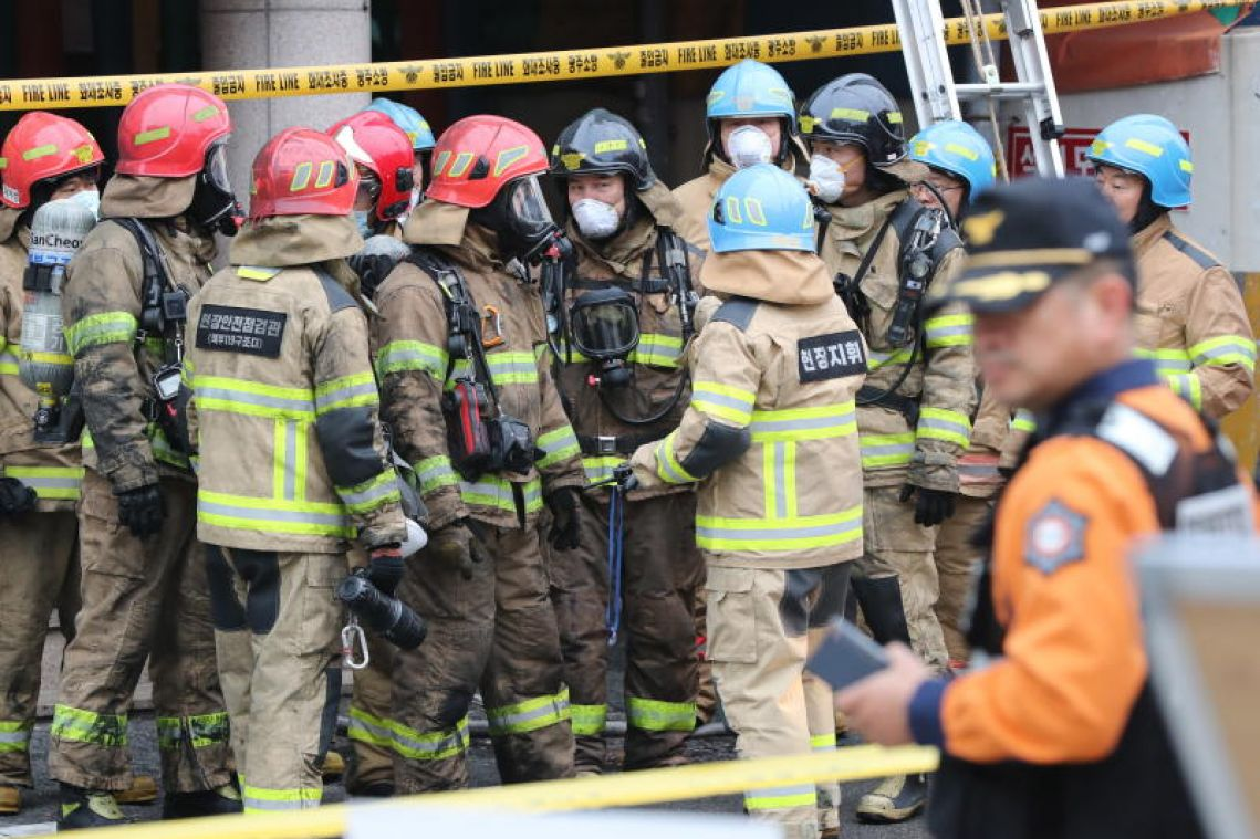 2 killed, 31 injured in South Korean arson attack at motel