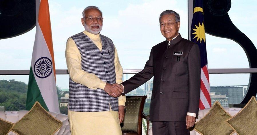 敦马言论引不满 印度外交部传召大马官员