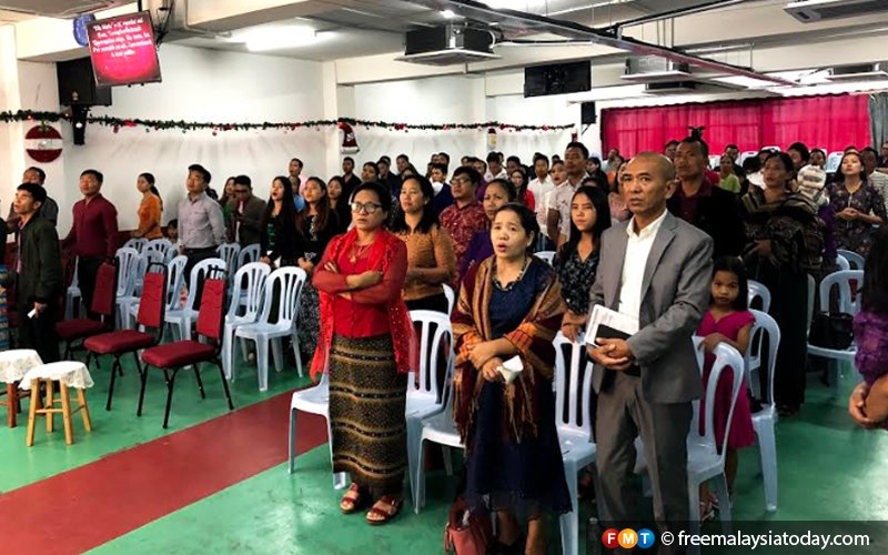 Myanmar's persecuted Christians celebrate peaceful Christmas in Malaysia