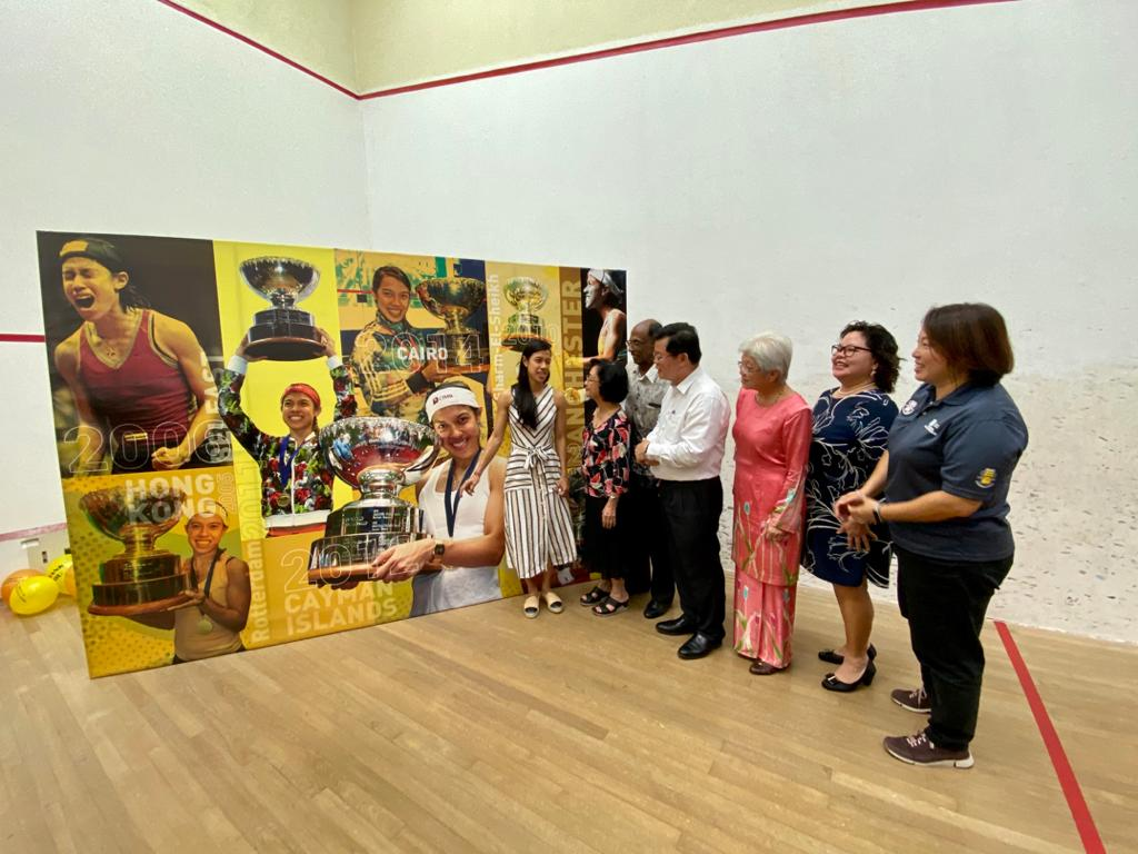 Squash legend Nicol shares her story with the young