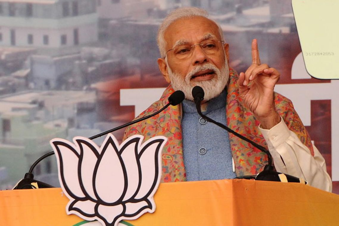 India's BJP trails in state poll, signalling more woes for Modi