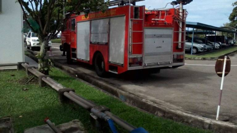 Disaster averted as firemen stop flame from razing fuel tanks