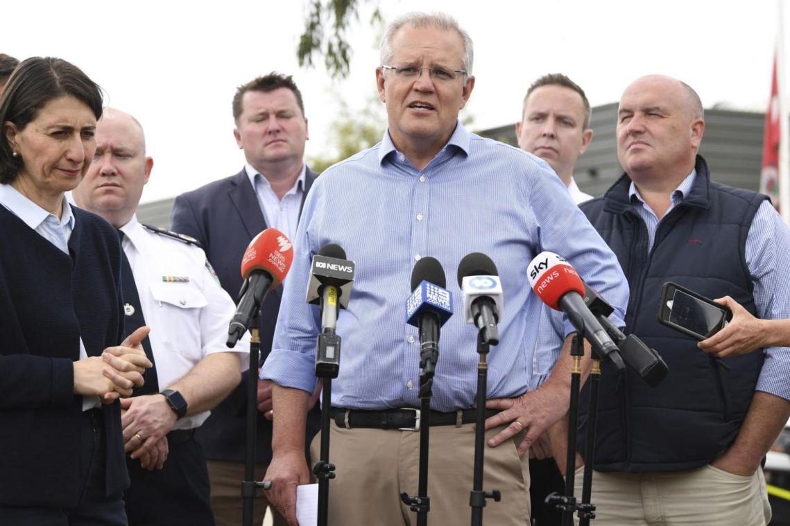 Australian PM Scott Morrison dismisses calls to curb coal as blazes set to blight Christmas celebrations
