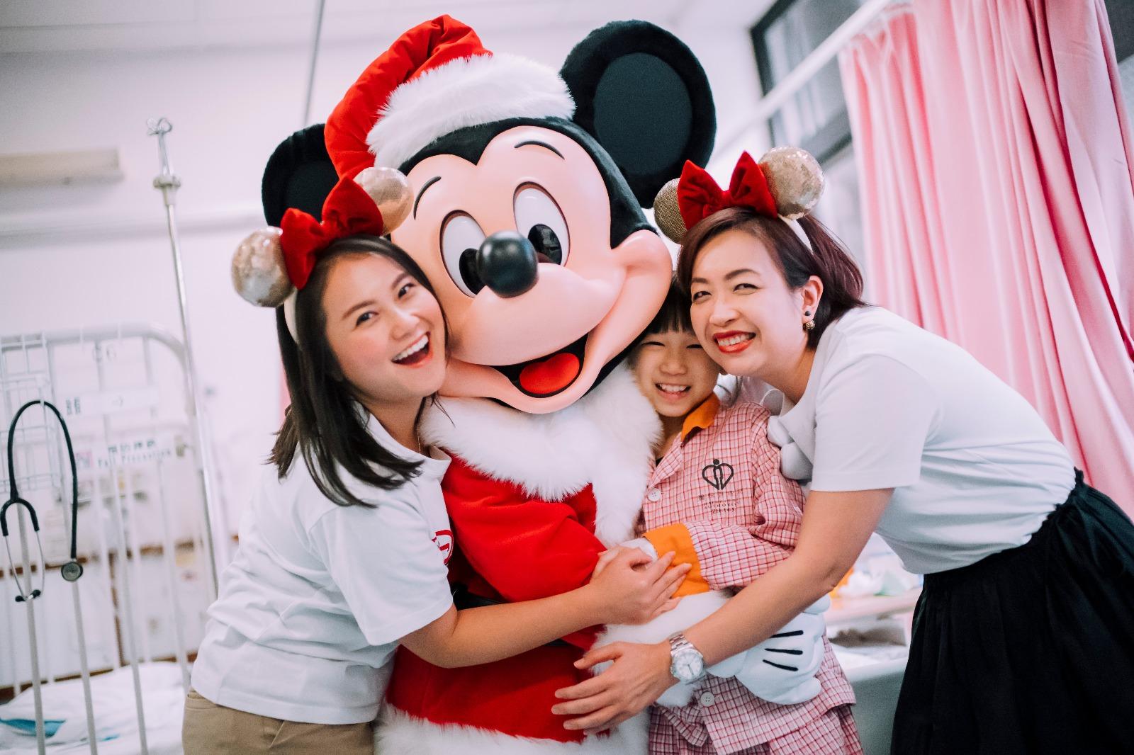 【维港会】逾200迪士尼义工到访医院学校 将欢乐气氛送到社区