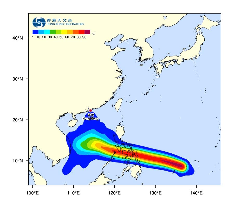 风暴「巴蓬」袭南海 天文台:留意天气变化