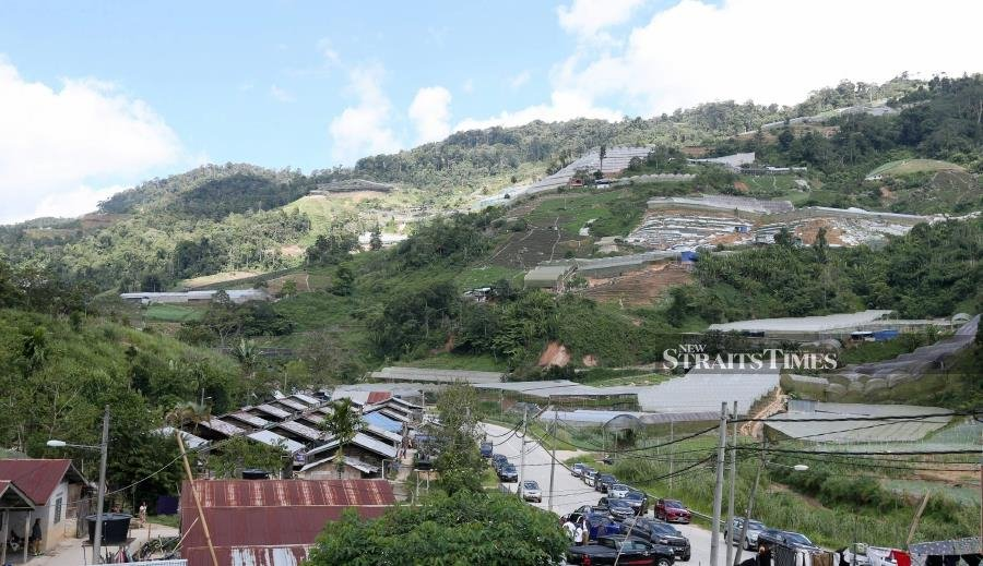 'Efforts to curb Cameron Highlands land encroachment complied with law'