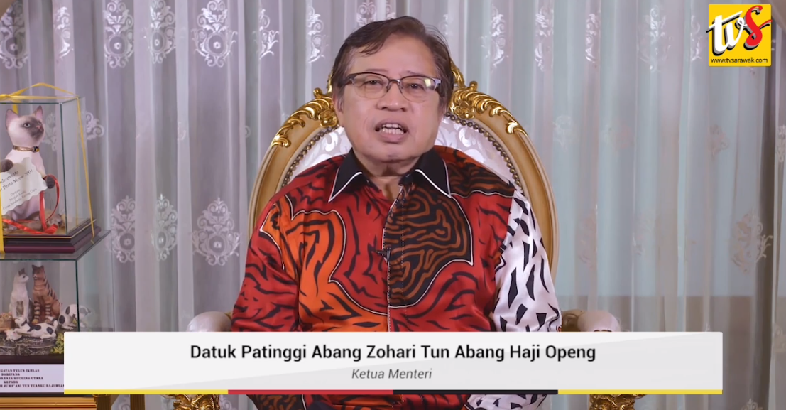 Abang Johari delivers Christmas message for Sarawakians, optimistic outlook in 2020