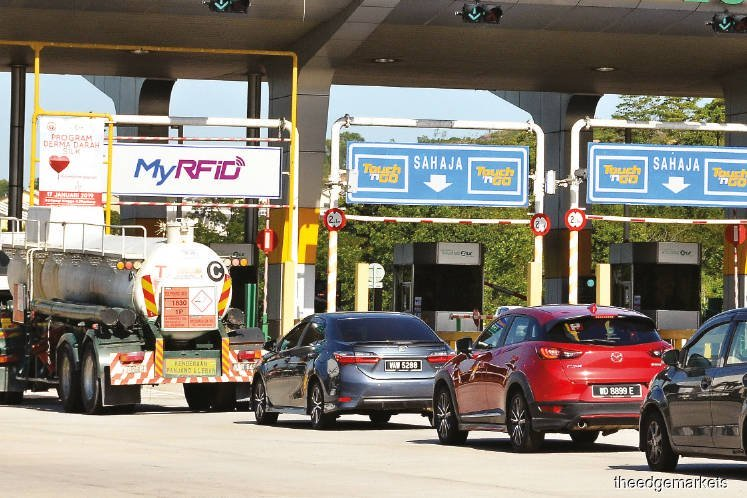 RFID payment at 62 toll plazas from Jan 1