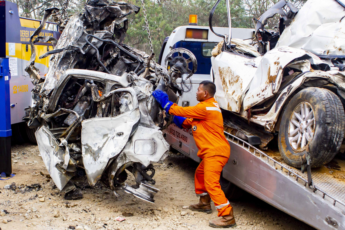 23 die in traffic accidents during Christmas holiday exodus